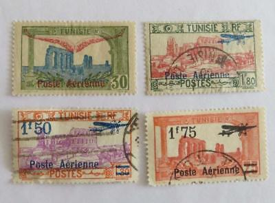France Tunisia 1919 - 27 small collection Airmail