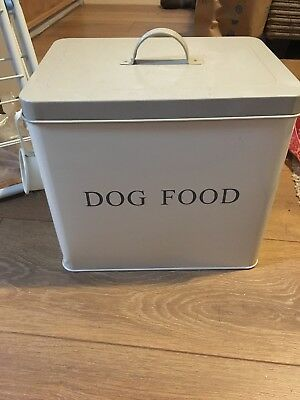 Dog Food Storage Tin pet food storage tin