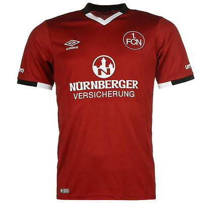 Umbro Nürnberg CLUB Authentic Fußball Home Trikot 2016/2017 Gr. 3XL