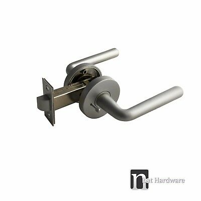 Door Locks Privacy Lever Handles Set (1119)