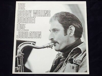 Bobby Wellins Quartet ‎– Live... Jubilation.  Vortex ‎– VS1