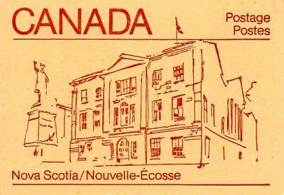 CANADA COMPLETE 50 cent STAMP BOOKLET SB91c F5