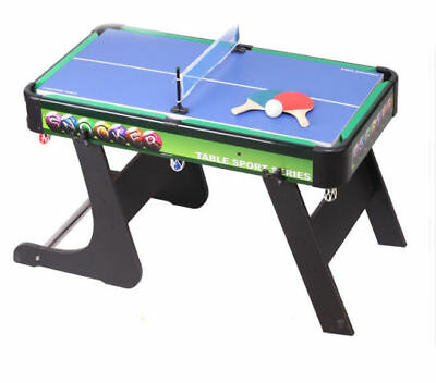 A17 Wooden Kids Toy Home Foldable Billiard Ball Snooker Pool Table Game 68CM