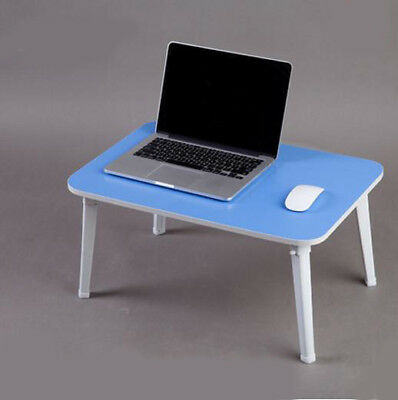 A20 Blue Office Bedroom Furniture Computer Laptop Desk Foldable Artificial Board