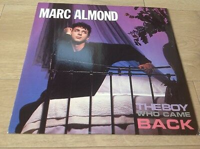 """Marc Almond The Boy Who Came Back 12"""" Picture Sleeve Single"""