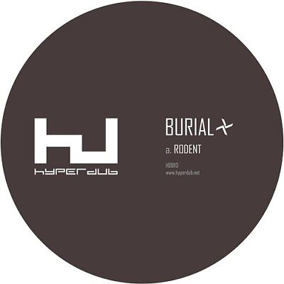 "Burial Rodent New Sealed 10"" Vinyl Single In Stock"