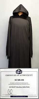 C.o.a. Scre4M Scream 4 Prop Ghostface Killer Robe Genuine Used During Production