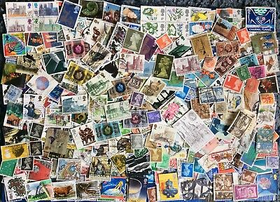 A COLLECTION OF 425(+) Used G.B. STAMPS: Plus ALL *** 61*** Sets from the 1970s