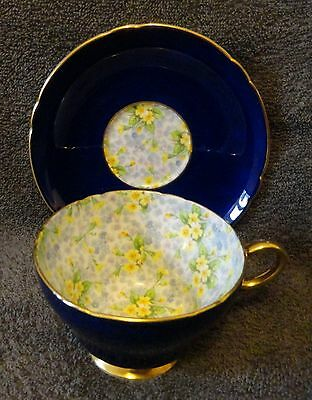 Shelley, Primrose chintz, Cup and Saucer.