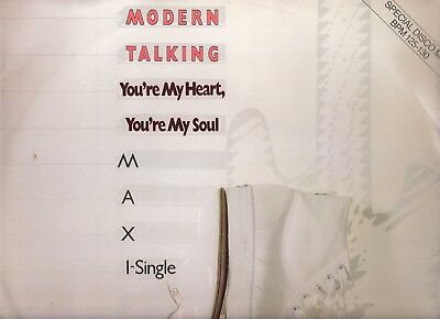 """Modern Talking – You're My Heart, You're My  Soul - UK issue 12"""" single"""