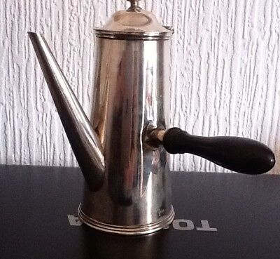 Atkin Brothers Silver plated Chocolate pot