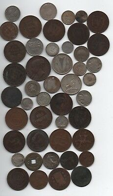 old worlds coins some silver