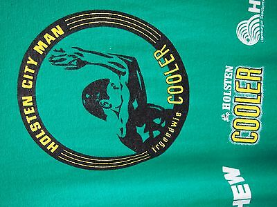 TRIATHLON HOLSTEN COOLER  HAMBURG GRÜN  FINISHER 2006  T SHIRT Gr. XL