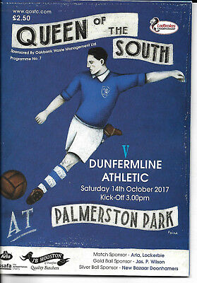 Queen Of The South V Dunfermline Athletic - Scottish League Fixture 2017