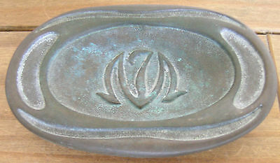 BRONZE DISH..1979 by CIWLT..MADE IN FRANCE