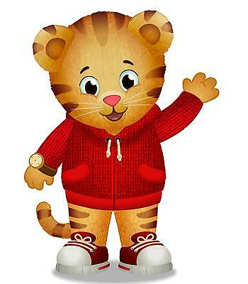 "Daniel Tiger Iron On Transfer 4.75 ""x 6.5"" for LIGHT Colored Fabric"