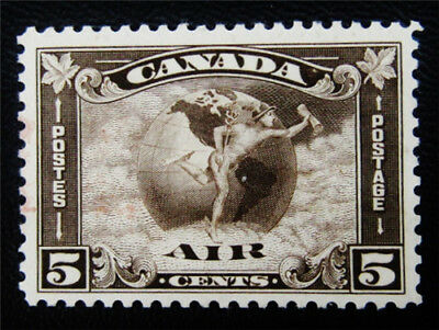 nystamps Canada Air Mail Stamp # C2 Mint OG H $85 Appears