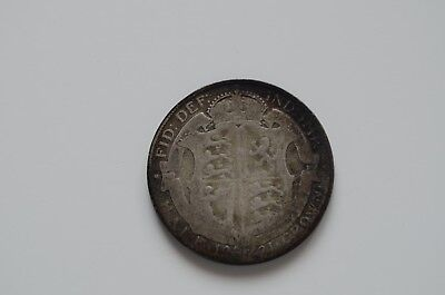 1921 half crown, 2 x 1920 and 1 x 1924 florin, 1928 shilling