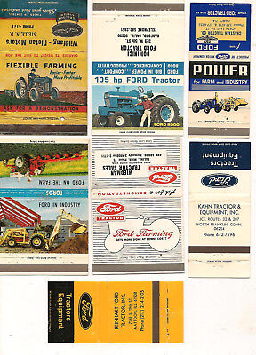 20 Ford Tractor Matchbooks