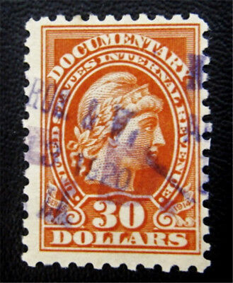 nystamps US Revenues Stamp # R222 Used $21