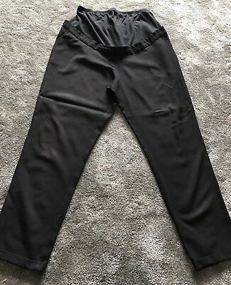 New Look Ladies Maternity Black Trousers Size 14