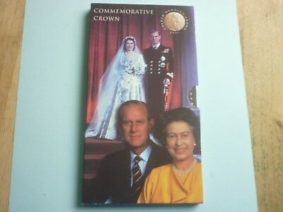 Royal Mint 1997 Royal Golden Wedding Anniversary £5 Coin Presentation Pack