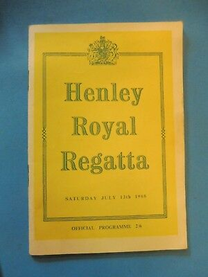 Henley Royal Regatta programme 1968