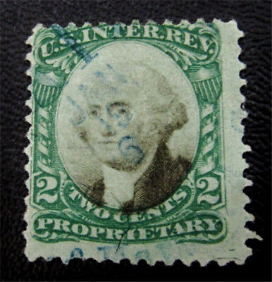 nystamps US Revenues Stamp # RB2b Used $30
