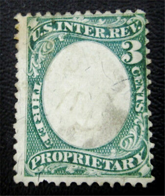 nystamps US Revenues Stamp # RB3a Used $33