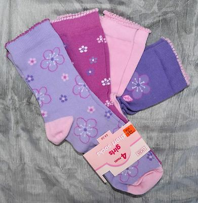 84 Pairs Girls Ankle Socks Bhs Cotton Rich Pink  Lilac Wholesale Job Lot