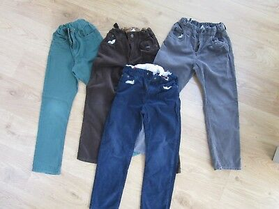 H & M boys trousers age 6-7 years 4 pairs excellent condition