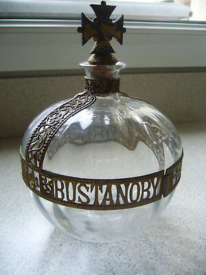 carafe,bouteille bustanoby freres NY forbidden fruit 1904