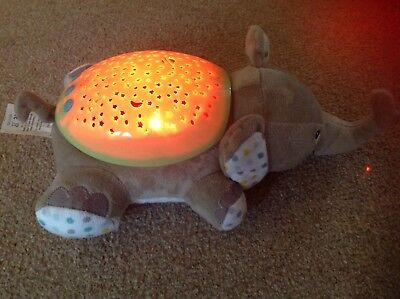 Summer infant baby elephant slumber soother lightshow and music