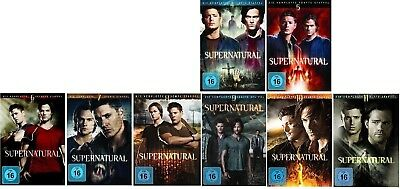 Supernatural Staffel 4-11 (4+5+6+7+8+9+10+11) DVD Set NEU OVP