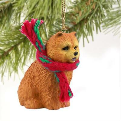 Chow Chow Red Dog Tiny One Miniature Christmas Holiday ORNAMENT