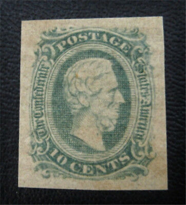 nystamps US CSA Confederate Stamp # 11c Mint OG H $30