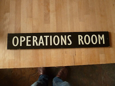 "Replica RAF Duxford ""Operations Room"" Sign"