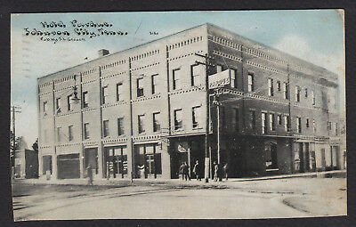 Johnson City-Tennessee-Hotel Pardue-Antique Postcard-Trimmed