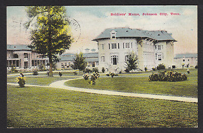 Johnson City-Tennessee-Soldiers' Home-Antique Postcard