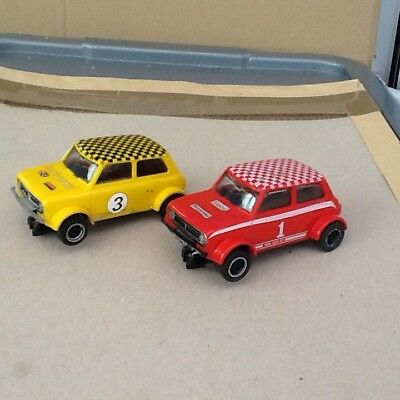 2 X Vintage Scalextric Minis - Good Condition