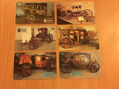 Collectable Phonecards. Vintage Transport Cards