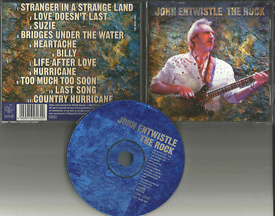 The Who JOHN ENTWISTLE The Rock CD Made In Europe OUT OF PRINT USA seller 1996