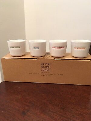 Keith Brymer  Jones Egg Cups, New Boxed