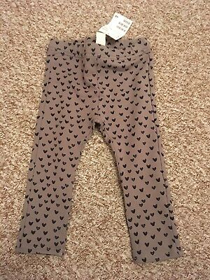 Baby Girls H&M Leggings, Treggings Trousers 12-18 Months New With Tags