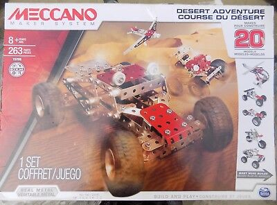 Meccano Desert Adventure Model Set (20-Models) 15206