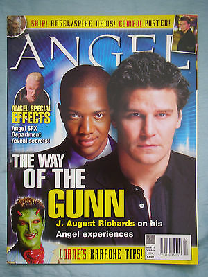 Official UK Angel Magazine # 15  Oct 2004 spin-off from Buffy the Vampire Slayer