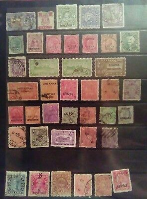 Stamps Used Mm Indian States