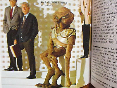 Sept. 1963 FALL PREVIEW TV Guide(THE OUTER LIMITS/PATTY DUKE/MY FAVORITE MARTIAN