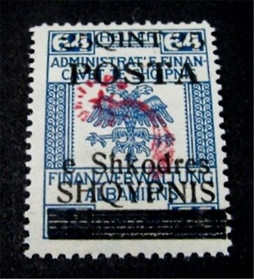 nystamps Albania Stamp # 94 Mint OG H $160