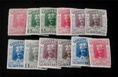 nystamps Albania Stamp Unissued without Overprint